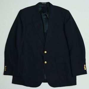 Stafford Deep Navy Blazer - 2 Golden buttons - 44R